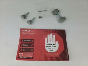 iWalk 2.0 Hands Free Crutch Replacement Thumb Screws, Nuts, and User Guide Only
