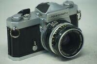 Nikon Nikkormat SLR film camera with Nippon 50mm F/2