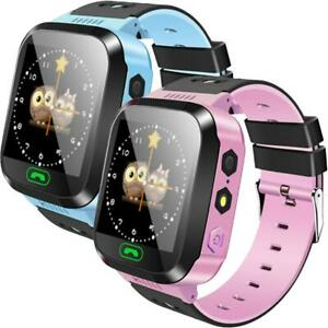 GPS Kids Tracker Smart Watch With Camera Waterproof Games Flashlight Call