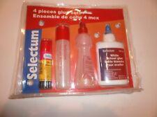 Glue set 4 Piece glue st glue pen, glue pen, school glue