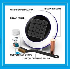 New Solar Pool Ionizer: Kills Algae Using 80% Less Chlorine, Less pump usage...