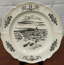 Wedgwood Army Crossng 200th Anniversary Historical 9th State New Hampshire Plate