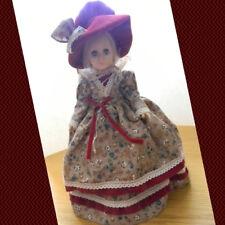 "Vintage 1976 Effanbee Collector's Doll. Original Dress & Hat, Blonde Hair 11"""