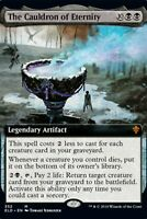 The Cauldron of Eternity Ext. Art FOIL Single MTG Throne of Eldraine Pack Fresh