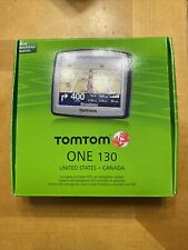 New ListingNew Factory Sealed TomTom One 130 Portable Car Lcd Gps System Us Canada Maps