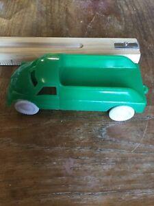 1950s (?) Green Plastic Cheerio Truck - Made In Canada