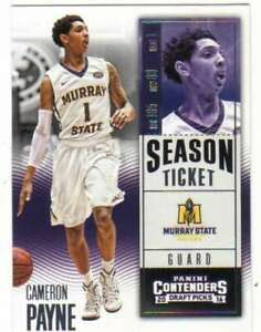 2016-17 Panini Contenders Draft NCAA Basketball Base/Insert Cards Pick From List