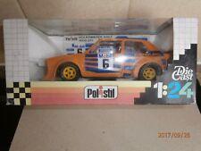 """Polistil VW Golf Rally  1600GT in Yellow,""""Pierburg""""1/24th Scale,[SN41 Hunsrueck"""