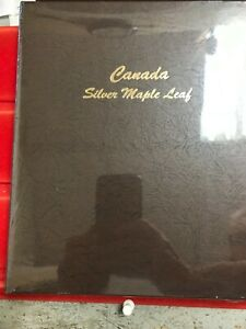 DANSCO Canada SILVER MAPLE LEAF Album #7215 NEW and SEALED