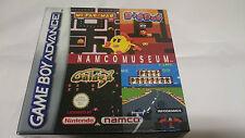 A ESTRENAR.PRECINTADO.GAME BOY GAMEBOY ADVANCE NAMCO MUSEUM.NAMCOMUSEUM.ESPAÑOLA