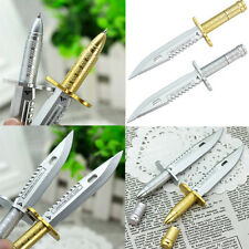 Pop Game Cross Fire Replica Novelty Ballpen Knife Dagger Boy Ball-point Pen Gift