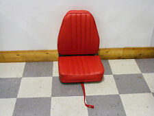 Highback Deluxe Fold-Down Seat (Solid Red)