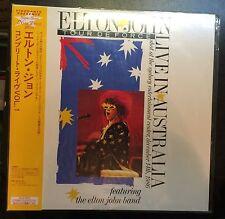 New and Sealed Elton John Tour De Force Live in Australia Laserdisc