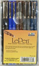 LePen Marvy Uchida Micro-fine 0.3 10pc Earth Tone Set 4300-10D Le Pen