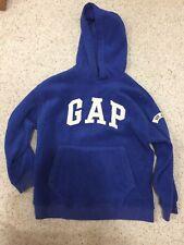 Gap Fleece Hoodie Pullover Blue Boys Girls size M