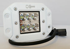 """TWO 4"""" CREE LED FLUSH MOUNT LIGHT LAMP  3X3 CUBE POD FORD RAPTOR TACOMA ATV"""