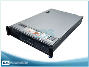 Dell R720 16 SFF (2)Heat Sinks 0GB Mem PERC H710 RAID (4)1G NIC (2)750W Rails