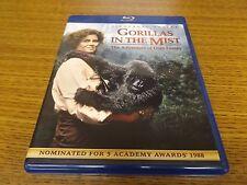 Gorillas in the Mist (Blu-ray Disc, 2014) SIGOURNEY WEAVER *1988* CLEAN!!