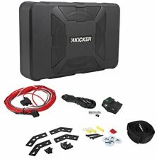 "Kicker 11HS8 8"" 150 Watt Hideaway Compact Car Audio Powered Subwoofer Sub HS8"