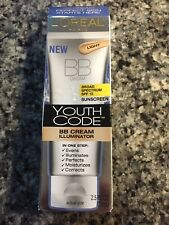 Loreal Youth Code BB Cream Illuminator LIGHT 2.5 fl oz