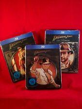 Indiana Jones Part 1 - 3 Novobox Edition (FuturePak Steelbook) - free shipping
