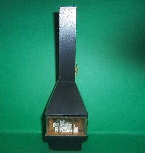 VINTAGE LUNDBY DOLLS HOUSE RARE TALL BLACK FIREPLACE