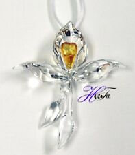 AFRICAN ORCHID ORNAMENT SCS EVENT PIECE GWP 2018 SWAROVSKI CRYSTAL 5301554