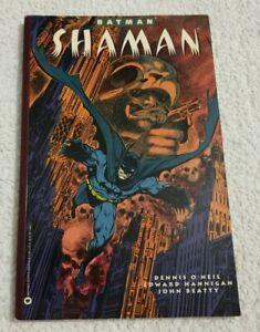 RARE Batman Shaman Graphic Novel by Dennis O'Neil (Warner Books, 1993)