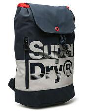 Superdry 2019 Cruiser Backpack Blue Gym Laptop Office School Bag Rucksack SALE!