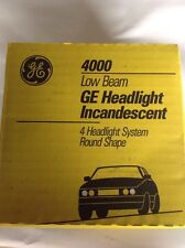 GE Sealed Low Beam Incandescent Headlight GE4000