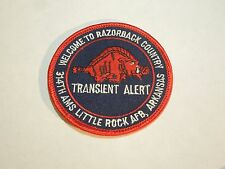Transient Alert-Welcome to Razorback Country 314th Arkansas Iron On Patch