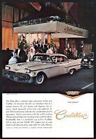 1958 CADILLAC Fleetwood AD Nan Duskin Gown Bellevue Stratford Philadelphia