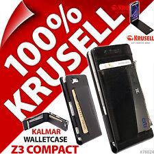 Krusell Kalmar Etui Portefeuille Étui Housse pour Sony Xperia Z3 Compacte