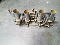 hilborn fuel injection system Offenhauser offy midget engine vintage original