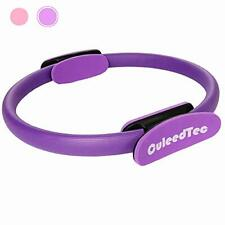 CuleedTec 15 Inch Double Handle Pilates Yoga Ring - Exercise Fitness Circle to