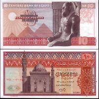 ÄGYPTEN/EGYPT -  Banknoten von 10 Pounds . 1972 - UNC