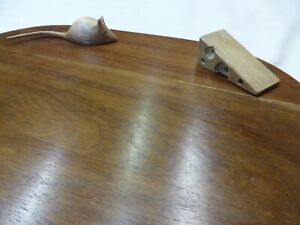 Stunning Hand-Made Cheese Board / Table Platter Food Server Solid Rosewood Wood