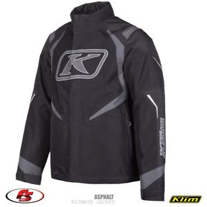 NEW KLIM Klimate Jacket - Asphalt Size 3X Snowmobile Jacket GORE-TEX