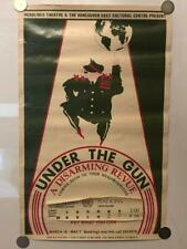 """Vancouver """"Under The Gun: A Disarming Revue"""" Poster 14""""x22"""" activist theater kbd"""
