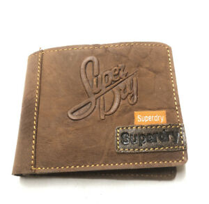 Men Brown SuperDry Leather Wallet