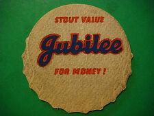 Beer Bar Coaster ~*~ JUBILEE STOUT Value for Money ** Burton Upon Trent, England