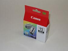 Genuine Canon BCI-15BK black ink BCI 15 iP90 iP90v iP70 iP80 50i 80i PIXMA BCI15