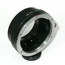 SONY NEX (E mount) adattatore per ottiche Canon EF + supporto cavalletto - 4030