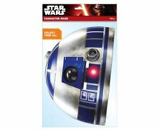 R2-D2 Ufficiale Star Wars Singolo 2D Card Party Face Mask droide sci fi trilogy
