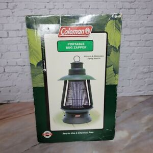 Coleman Cordless Rechargeable Portable Bug Zapper CMZ986 w/ Charge in Box Green