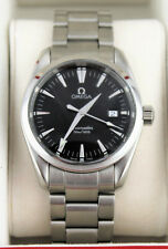 OMEGA SEAMASTER AQUA TERRA QUARTZ 2518.50 BLACK 36.2MM WRIST WATCH FOR MEN
