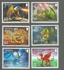 Jersey-Dragons mnh set 2015