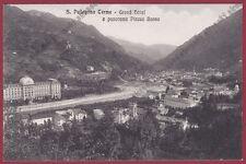 BERGAMO SAN PELLEGRINO TERME 61 GRAND HOTEL - ALBERGO - PIAZZO BASSO Cartolina