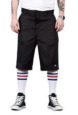 Shorts e bermuda da uomo neri regolare in cotone