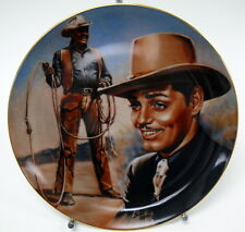 Clark Gable The King R.J. Ernst Collector Plate by Susie Morton 1348/27,500   MD